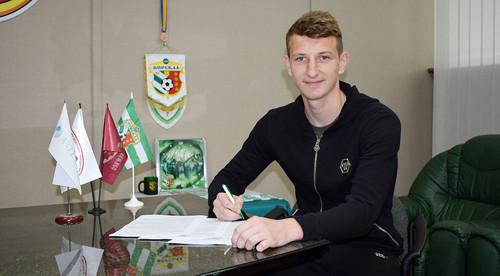 Ворскла продлила контракт с вратарем сборной Украины U-20