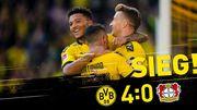 Боруссия Дортмунд - Байер - 4:0. Видео голов и обзор матча