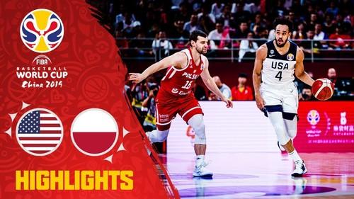 ЧМ по баскетболу. США — Польша — 87:74. Видеообзор матча