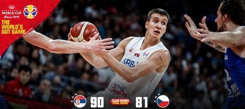 ЧМ по баскетболу. Сербия завоевала пятое место, обыграв Чехию