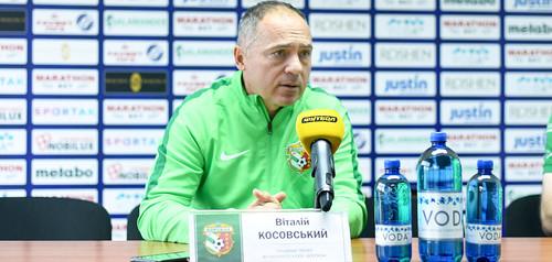 Виталий КОСОВСКИЙ: «Нам не хватило решающего удара»