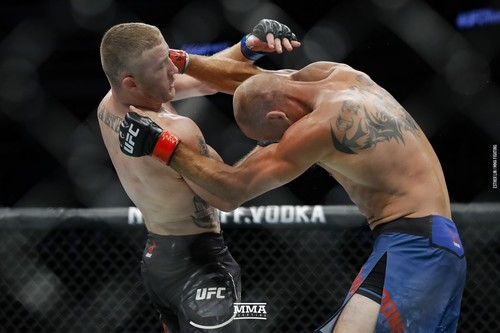 UFC. Гейджи нокаутировал Серроне, Тейшейра победил Крылова