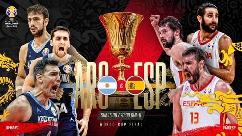 ЧМ по баскетболу. Аргентина – Испания. Смотреть онлайн. LIVE