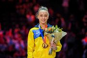 Варинская завоевала золото на этапе Мирового кубка вызова в Париже