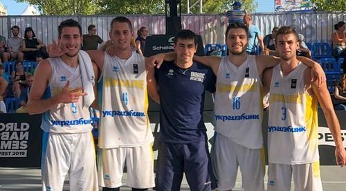 Сборная Украины U-23 завоевала третье место на Лиге наций 3x3