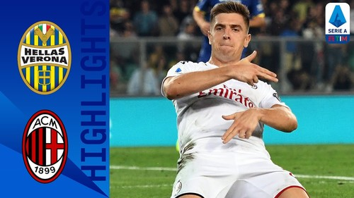 Верона – Милан – 0:1. Видео гола и обзор матча