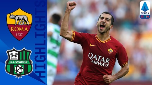Рома – Сассуоло – 4:2. Видео голов и обзор матча