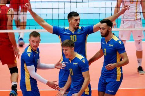 Украина победила Черногорию на чемпионате Европы по волейболу