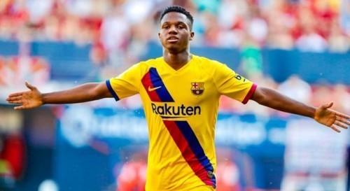 Фати – самый молодой дебютант Лиги чемпионов в истории Барселоны