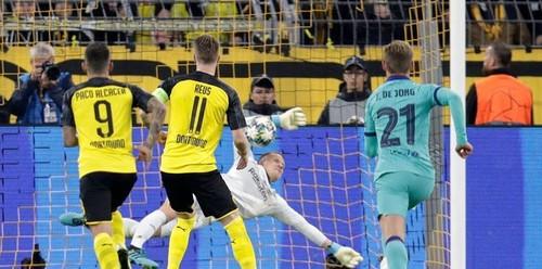 Боруссия Д – Барселона – 0:0. Видеообзор матча