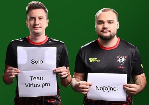 В составе Virtus.pro по Dota 2 останутся Solo и No[o]ne