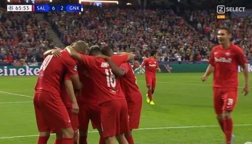 Ред Булл Зальцбург – Генк – 6:2. Видео голов и обзор матча