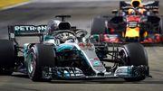 Гран-прі Сінгапуру. Розклад етапу Формули-1