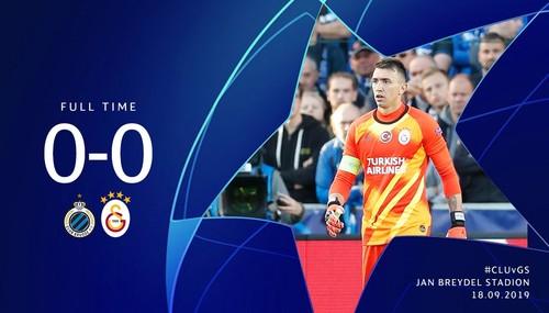 Брюгге – Галатасарай – 0:0. Видеообзор матча