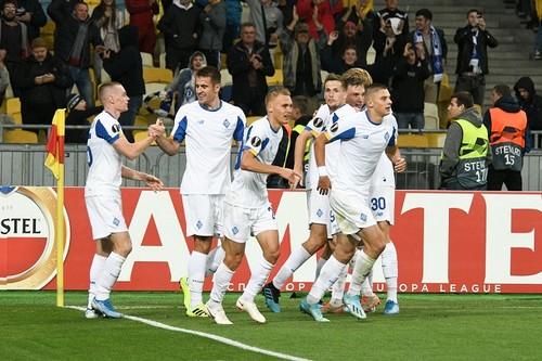 Динамо одержало 30-ю победу в Лиге Европы на своем поле