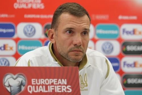 Шевченко объявил состав на матчи против Литвы и Португалии