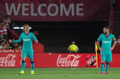 Барселона с Месси в составе уступила Гранаде