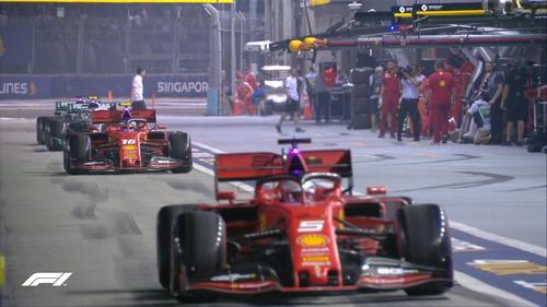 Формула-1. Гран-при Сингапура. Текстовая трансляция