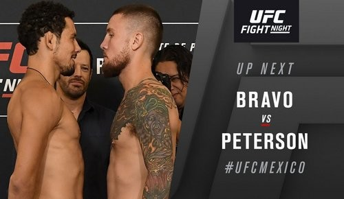 UFC Fight Night 159. Стивен Питерсон нокаутировал Мартина Браво