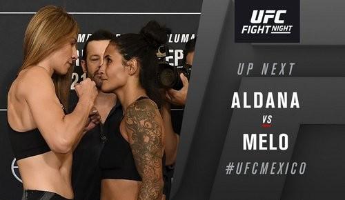 UFC Fight Night 159. Алдана разобралась с дебютанткой Мело