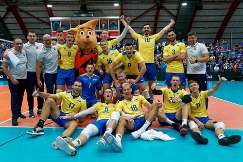 Исторический успех украинских волейболистов, первая победа Олимпика