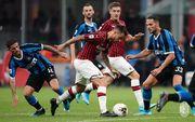 Милан не может обыграть Интер уже 7 матчей подряд