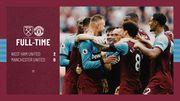 Вест Хем - Манчестер Юнайтед - 2:0. Відео голів та огляд матчу