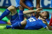 ФОТО. Пластуну в матчі чемпіонату Бельгії розбили обличчя до крові