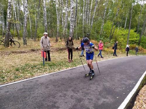 ЛЧУ по биатлону. Тищенко выиграл спринтерскую гонку