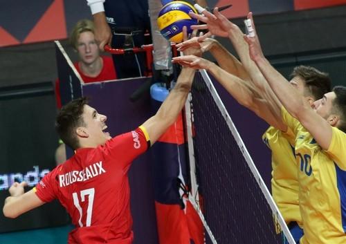 Волейбол. ЧЕ. Бельгия – Украина – 2:3. Видеообзор матча