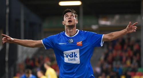 Яремчук забил 8 гол в сезоне за Гент