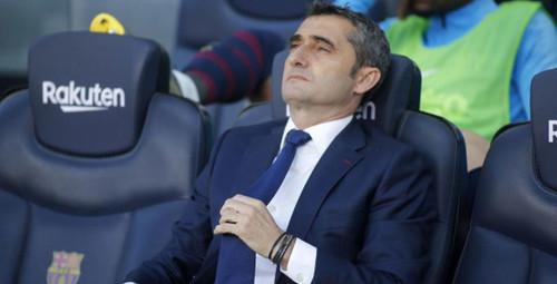 Вальверде уволят, если Барселона потеряет очки в двух следующих матчах