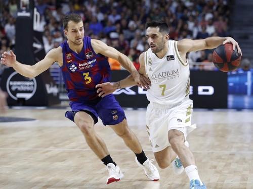 Барселона Пустового уступила Реалу в матче за Суперкубок Испании
