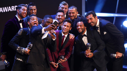 Церемония вручения наград ФИФА. Текстовая трансляция. LIVE