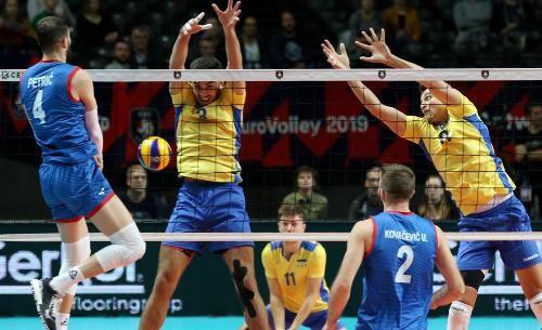 Украина только на тай-брейке уступила Сербии  в четвертьфинале