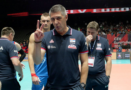 Тренер Сербии: «В игре с Украиной нам нет оправдания»