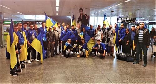 ВИДЕО. Как в Борисполе встречали сборную Украины по волейболу