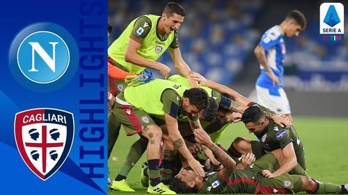 Наполи – Кальяри – 0:1. Видео гола и обзор матча