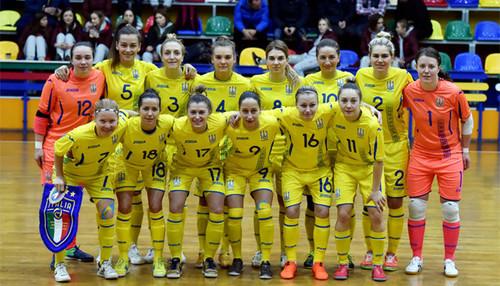 Женская сборная Украины по футзалу сыграет с Сербией