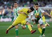 Вильярреал уничтожил Бетис, забив пять мячей