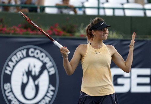 ВИДЕО. Как Марта Костюк в четвертьфинал турнира в Валенсии выходила