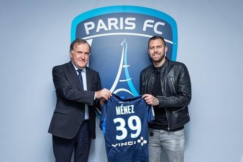 Менез стал игроком Парижа