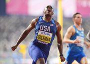 ВИДЕО. Коулмен выиграл 100-метровку на ЧМ с результатом 9,76 с