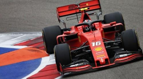 Леклер выиграл квалификацию в Сочи, 4-й подряд поул пилота Феррари