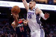 НБА. 12 очков Лэня помогли Сакраменто обыграть Вашингтон, камбэк Бруклина