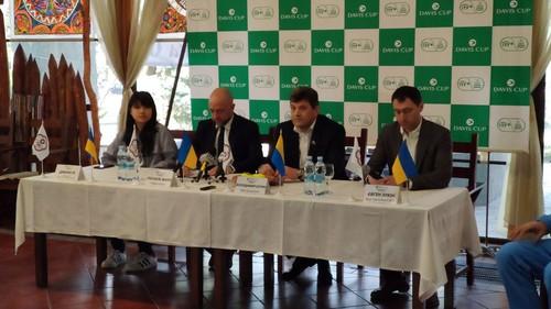 Україна – Китайський Тайбей. Відбулося жеребкування Кубка Девіса