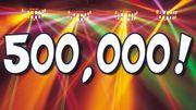 500 тысяч новостей! Опубликована юбилейная новость на Sport.ua!