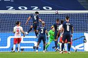 ВИДЕО. Маркиньос открыл счет для ПСЖ в матче против РБ Лейпциг
