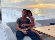 ФОТО. Роналду отдыхает на яхте со своей невестой