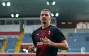 Милан не может договориться по новому контракту с Ибрагимовичем